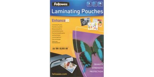 Lamineerhoes A3 - 80 mic glanzend