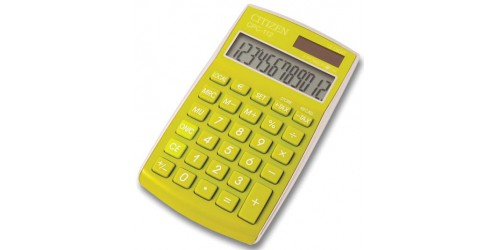 Citizen rekenmachine basic groen