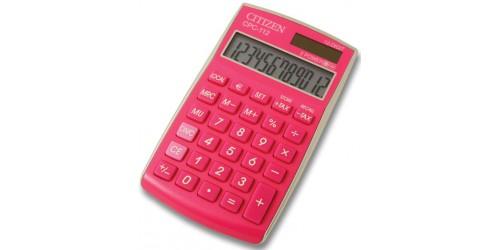 Citizen rekenmachine basic roze