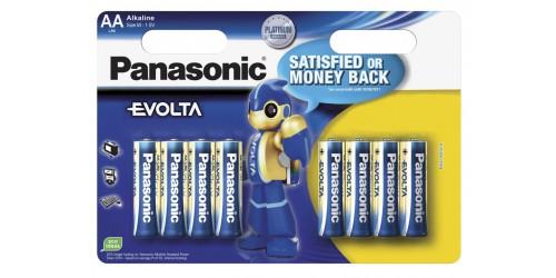 Panasonic batterij AA LR6/8BP 6+4