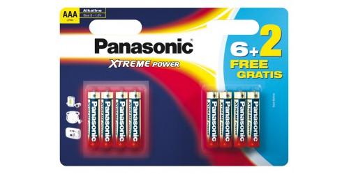 Panasonic batterij AAA 6+4 gratis