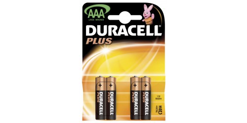 Duracell Power plus LR03 AAA