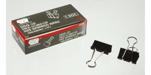 Papierknijper Foldback 32 mm