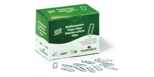 Papierklem Durable 26 mm (1207,25)