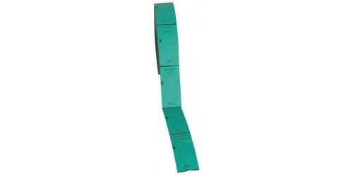 Nummerrol 1 à 1000, groen