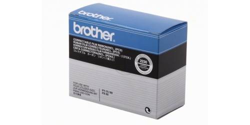 2230 BROTHER PX50 RIBBON (2) BLACK