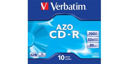 VERBATIM CDR80 700MB 52x (10) JC