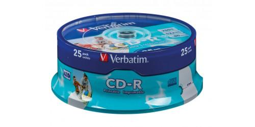 VERBATIM CDR80 700MB 52x (25) SP