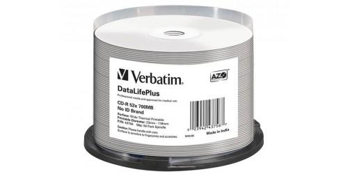 VERBATIM CDR80 700MB 52x (50) CB
