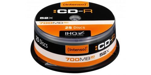 INTENSO CDR80 700MB 52x (25) CB
