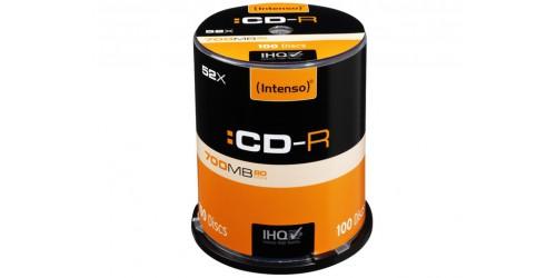 INTENSO CDR80 700MB 52x (100) CB