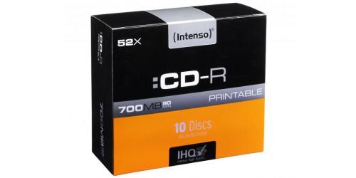 INTENSO CDR80 700MB 52x (10) SC