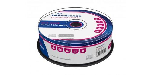 MEDIARANGE CDR80 700MB 52x (25) CB