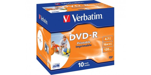 VERBATIM DVD-R 4.7GB 16x (10) JC