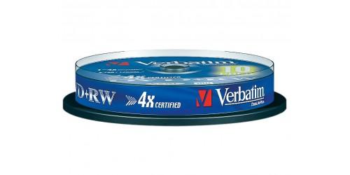 VERBATIM DVD+RW 4.7GB 4x (10) SP