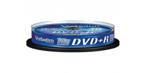 VERBATIM DVD+R 4.7GB 16x (10) SP