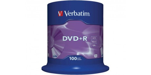 VERBATIM DVD+R 4.7GB 16x (100) SP