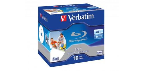 VERBATIM BD-R 25GB 6x (10) JC