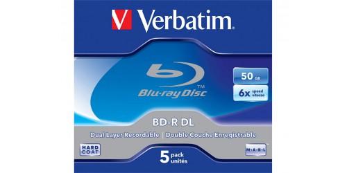 VERBATIM BD-R 50GB 6x (5) JC