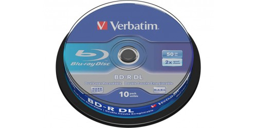 VERBATIM BD-R 50GB 6x (10) SP