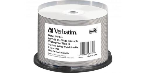 VERBATIM DVD-R 4.7GB 16x (50) CB
