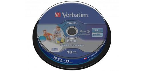 VERBATIM BD-R 25GB 6x (10) CB