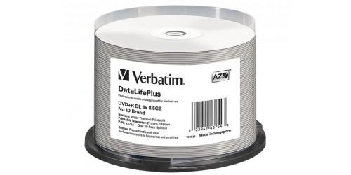 VERBATIM DVD+R 8.5GB 8x (50) SP