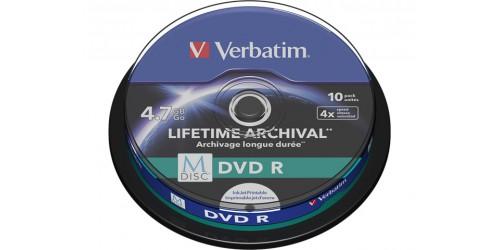 VERBATIM DVD-R 4.7GB 4x (10) IW CB