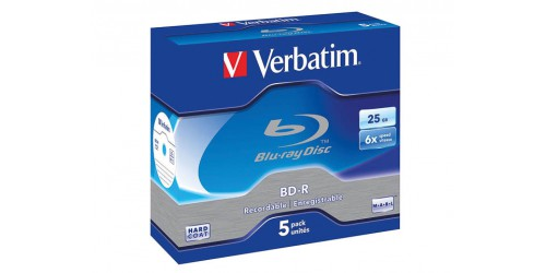 VERBATIM BD-R 25GB 6x (5) JC
