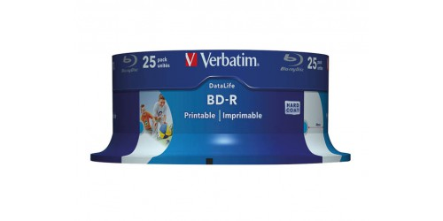 VERBATIM BD-R 25GB 6x (25) CB