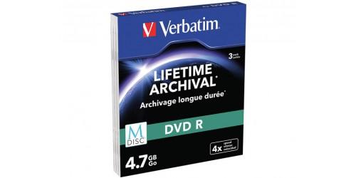 VERBATIM DVD-R 4.7GB 4x (3) SC