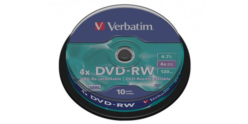 VERBATIM DVD-R 4.7GB 4x (5) JC