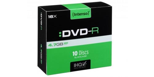 INTENSO DVD-R 4.7GB 16x (10) SC