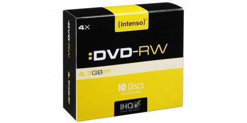 INTENSO DVD-RW 4.7GB 4x (10) SC