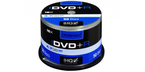 INTENSO DVD+R 4.7GB 16x (50) CB