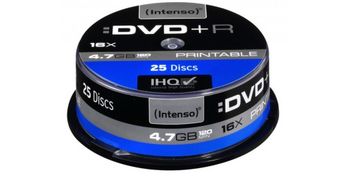 INTENSO DVD+R 4.7GB 16x (25) CB