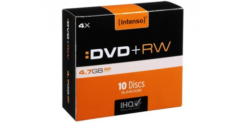 INTENSO DVD+RW 4.7GB 4x (10) SC