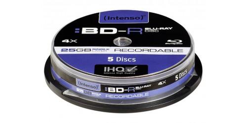 INTENSO BD-R 25GB 4x (5) CB