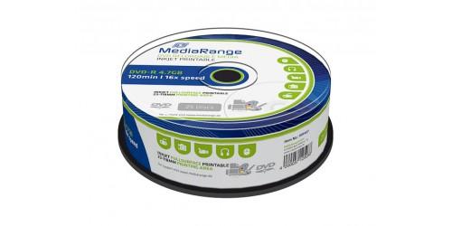 MEDIARANGE DVD-R 4.7GB 16x (25) CB WHITE