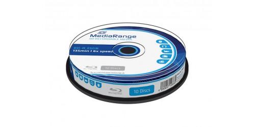 MEDIARANGE BD-R 25GB 6x (10) CB