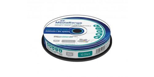 MEDIAR DVD+R DL 8.5GB 8x (10) CB WHITE