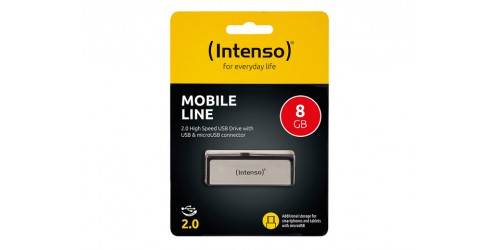 INTENSO MOBILE LINE USB DRIVE 8GB