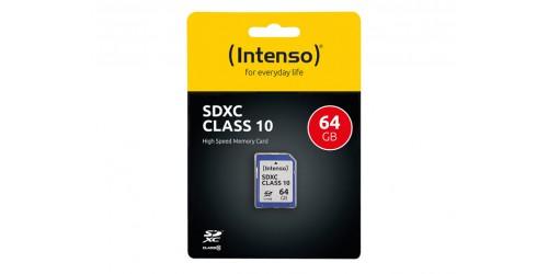 INTENSO SDXC CARD 64GB
