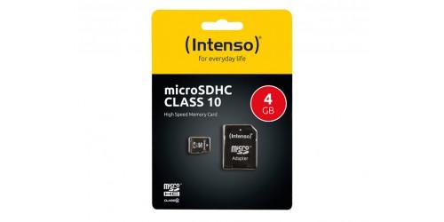INTENSO MICRO SD CARD 4GB