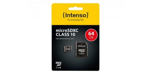 INTENSO MICRO SDXC CARD 64GB