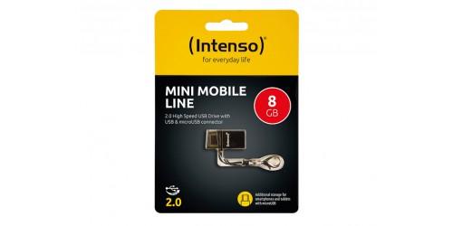 INTENSO MINI MOBILE LINE USB DRIVE 8GB