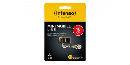 INTENSO MINI MOBILE LINE USB DRIVE 16GB