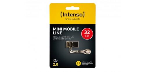 INTENSO MINI MOBILE LINE USB DRIVE 32GB