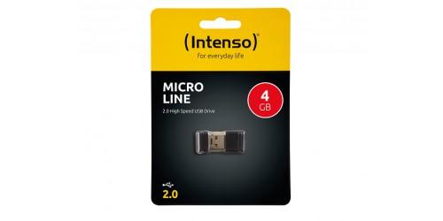 INTENSO MICRO LINE USB DRIVE 4GB