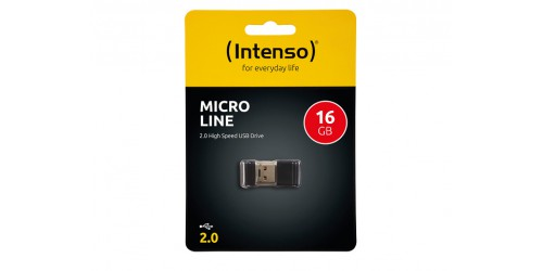 INTENSO MICRO LINE USB DRIVE 16GB